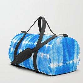 Tie Dye in Blue Duffle Bag
