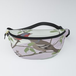 loving chaffinches Fanny Pack