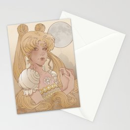 Princess of the moon Stationery Cards