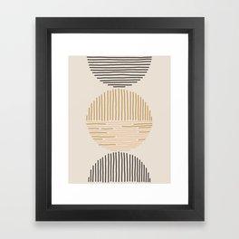one last swim Framed Art Print