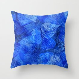 Forest Flora 5 Throw Pillow
