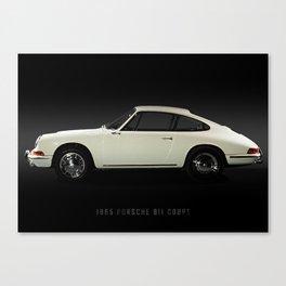 1965 911 coupe Canvas Print