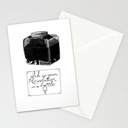 The Pen is Mightier Stationery Cards