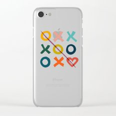xoxo Love Clear iPhone Case