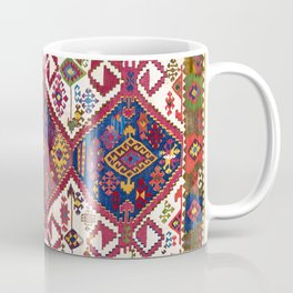 Adana Kilim South East Anatolia Antique Tribal Rug Coffee Mug