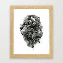 Onslaught Framed Art Print