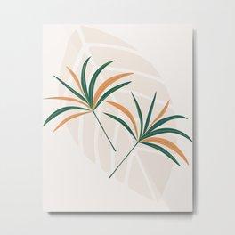 Colorful Leaflet Metal Print