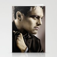 leonardo dicaprio Stationery Cards featuring Leonardo DiCaprio by Duke78