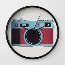 Little Yashica Camera Wall Clock