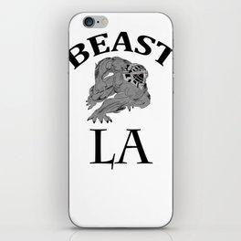 BEAST LA iPhone Skin