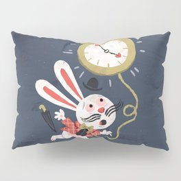 White Rabbit - Alice in Wonderland Pillow Sham