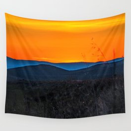 Rolling Hills at Sunset Wall Tapestry