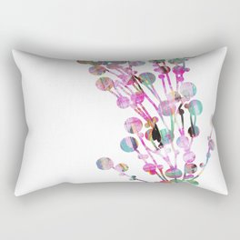 Sprig neon Rectangular Pillow