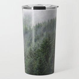 Fog Forest Travel Mug