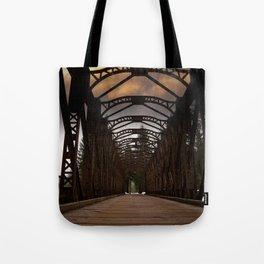 The Old Railway Bridge - Slovenia Tote Bag