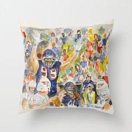 JJ Watt Football Player Throw Pillow