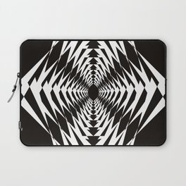 Trippy in BW Laptop Sleeve