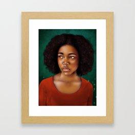 Vermilion Framed Art Print