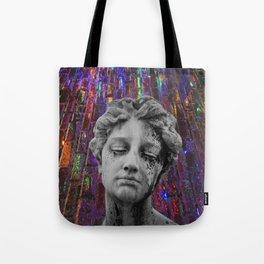 juxtaposed femme Tote Bag
