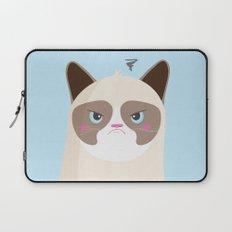 Grumpy Cat Laptop Sleeve
