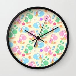 Yoshipalooza Wall Clock