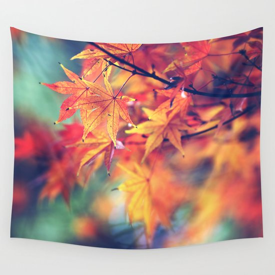 fall leaves Wall Tapestry