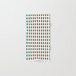 flag of Italia- Italy,Italia,Italian,Latine,Roma,venezia,venice,mediterreanean,Genoa,firenze Hand & Bath Towel