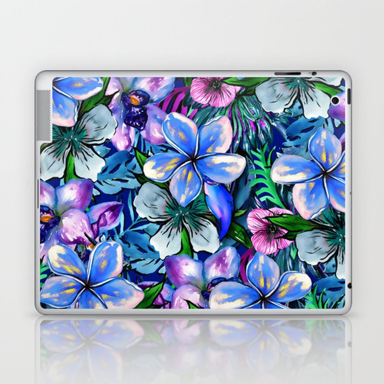 My Tropical Garden 5 - variation Laptop & iPad Skin