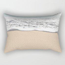 Wave Foam // California Ocean Pier Sandy Beaches Surf Country Pacific West Coast Photography Rectangular Pillow