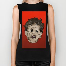 Face of Leather Biker Tank