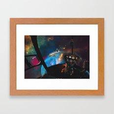 Intergalactic Outlaw Framed Art Print