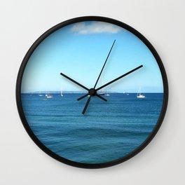 The Deep Blue Wall Clock