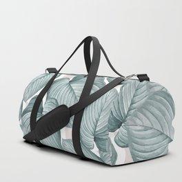 soft botanical Duffle Bag