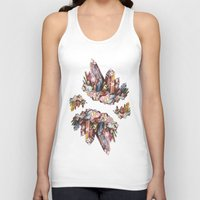 crystal Tank Tops featuring Crystal by Kat Nova