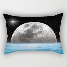 Moon Ocean Rectangular Pillow
