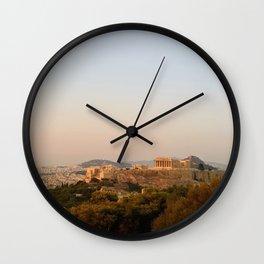 Rose Haze Wall Clock