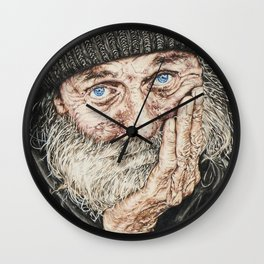 Calm Seas Never Made a Skilled Sailor Wall Clock
