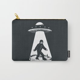 Bigfoot abducted by UFO Carry-All Pouch