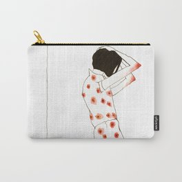 Young Woman Waiting Carry-All Pouch