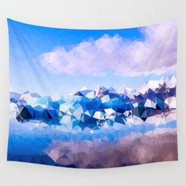 Ice Shard Magic Wall Tapestry