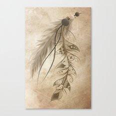 Bohemian Feather Canvas Print