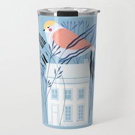Bird House Travel Mug