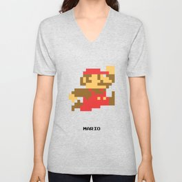 Lab No.4 -Mario Video Game Quotes,Poster Unisex V-Neck