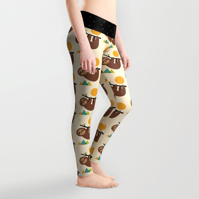 Keep Calm And Live Slow Leggings