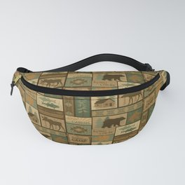 Big Bear Lodge Fanny Pack