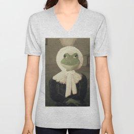 Madame Froggy Unisex V-Neck