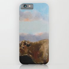 cow thinking about grass iPhone 6s Slim Case
