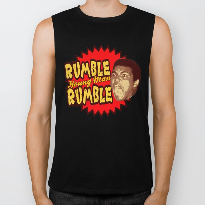 Rumble Young Man Rumble  |  Ali Biker Tank