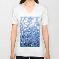 sparkle V-neck T-shirts featuring Sparkle by Brian Raggatt