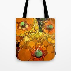 Sunset Poppies Tote Bag